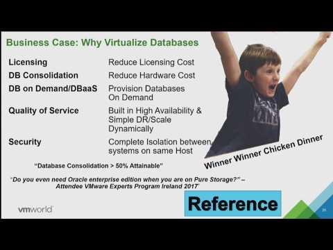 VMworld 2017 VIRT1309BU - Monster VMs (Database Virtualization) with VMware vSphere 6.5
