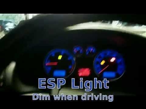 Vw warning lights esp