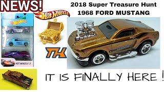 NEW 2018 '68 Mustang Hot Wheels Super Treasure Hunt And More News