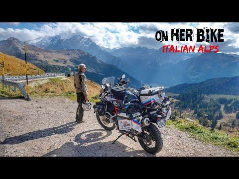 Italian Alps. On Her Bike Around The World. Episode 27