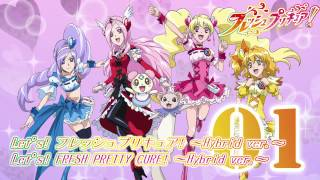 Fresh Precure! 2nd OP&ED Theme Track01