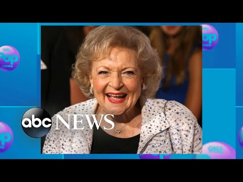 Betty White celebrates her 96t betty white