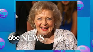 Betty White celebrates her 96th birthday