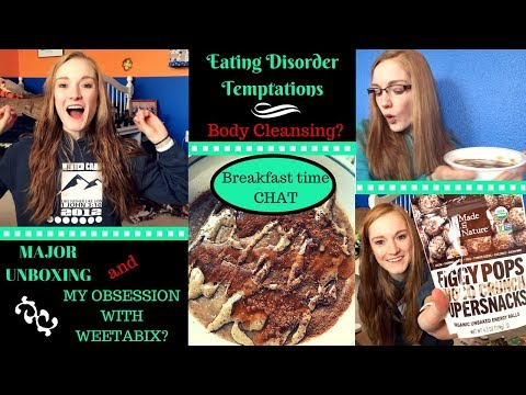 How to fight your ED TEMPTATIONS// Real recovery talk,  body cleansing, + unboxing