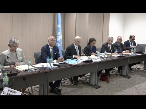Syrian Gov't Delegation Joins New Round of Peace Talks in Geneva