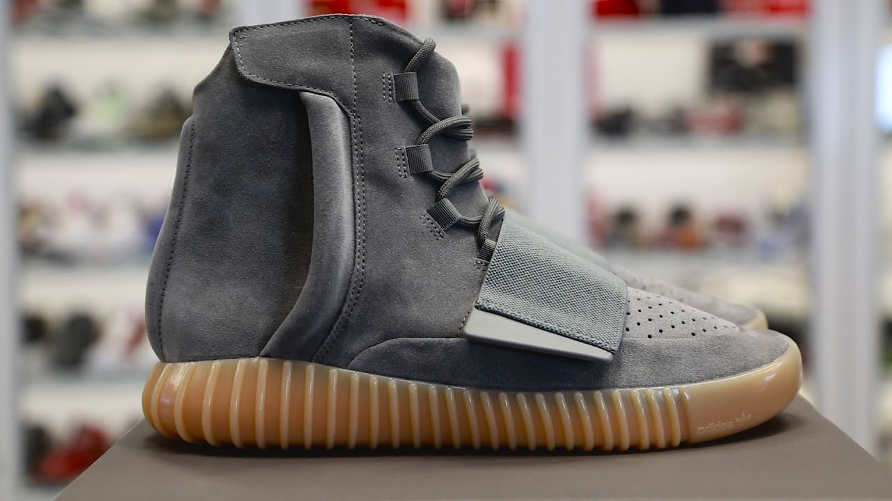 "info for 4263a c4c5c Unboxing The adidas Yeezy Boost 750 ""Light Grey"""