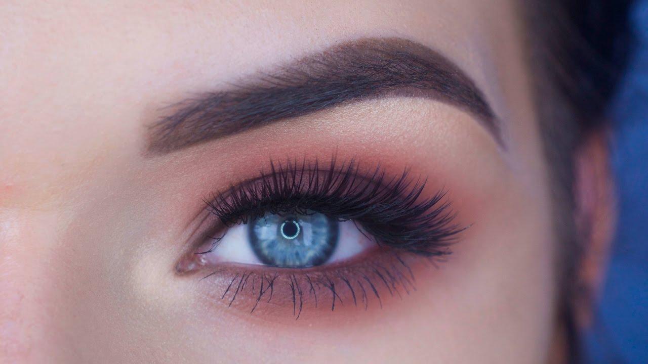 Too Faced Sweet Peach Palette Eye Makeup Tutorial Youtube