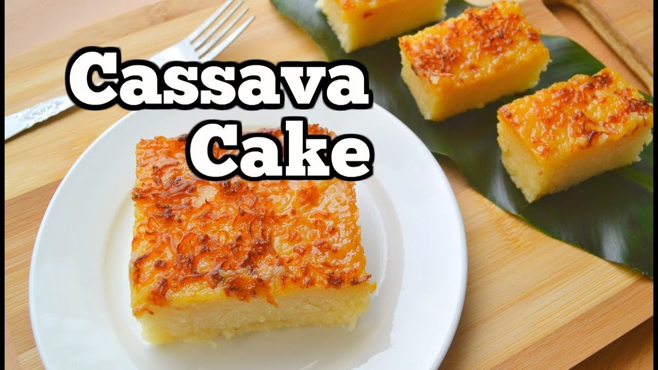 cassava cake ingredients and procedure
