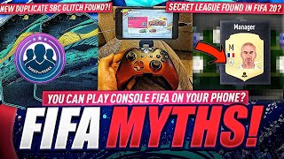 Secret League Found in FIFA 20
