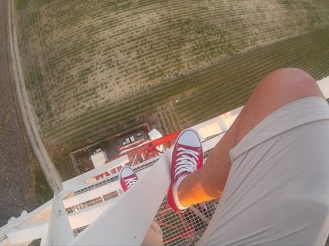 Climbing a radio tower in Greece | Rooftonis POV
