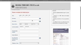 Online Theory Test Booking Scams