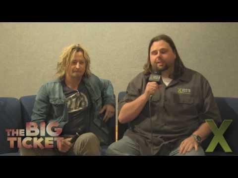 X102.9 Presents: Stone Temple Pilots Eric Kretz Backstage Interview - The Big Ticket 2013