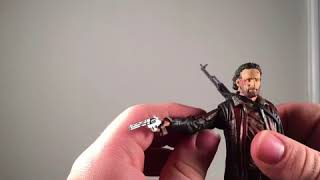 The Walking Dead: Bloody 3 pack figure review