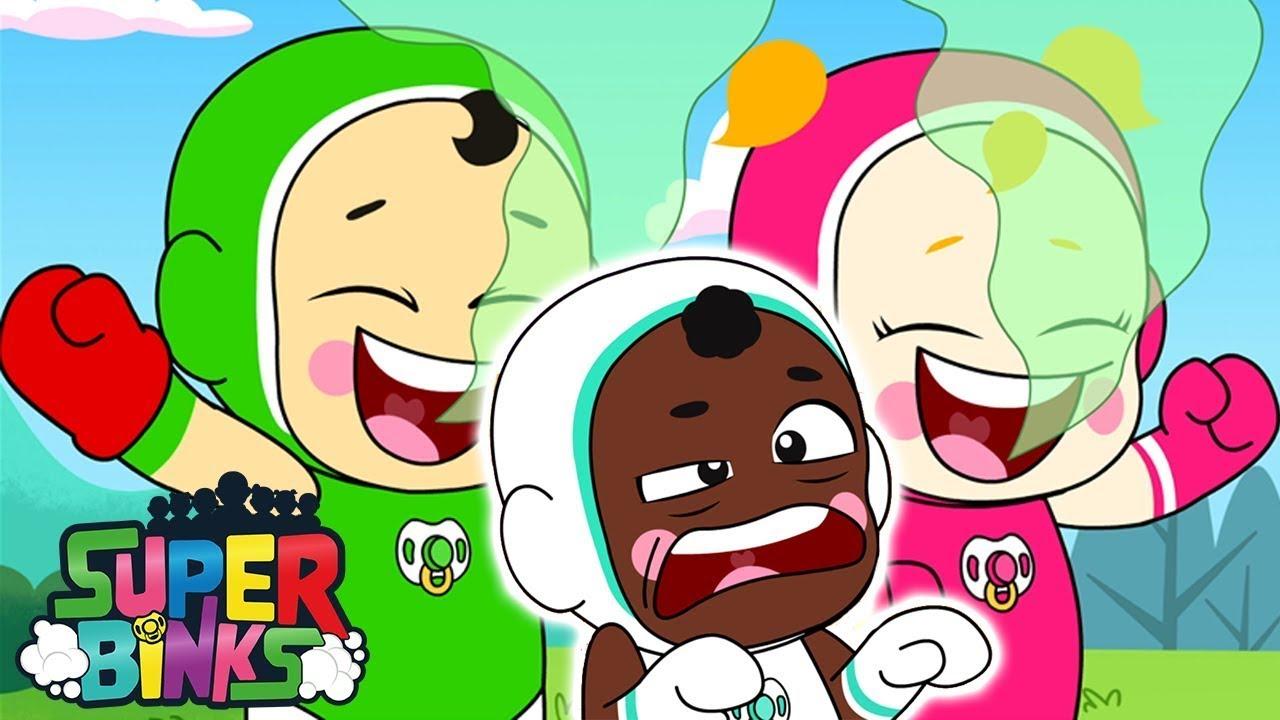 Superhero Kids Fails ⚡ Super Binks | WildBrain
