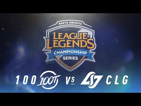 100 vs. CLG - Week 5 Day 2 | NA LCS Spring Split | 100 vs. CLG (2018)