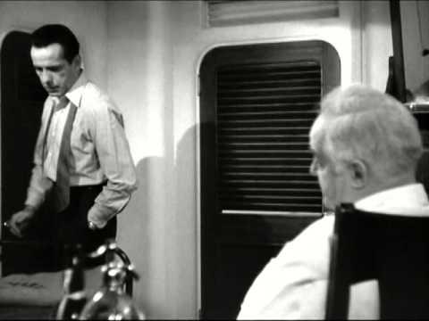 Across the Pacific (1942) - Humphrey Bogart - Sydney Greenstreet