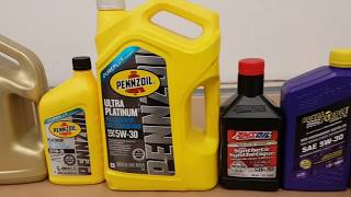 9 Full Synthetic Oil Cold Flow Test