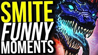 CERBERUS IS A GOD THAT GOT RELEASED! - SMITE FUNNY MOMENTS