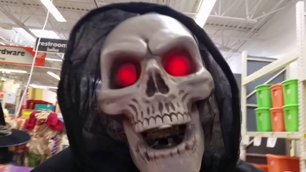 Home Depot Flexible Props : Home depot awesome halloween animatronics and other