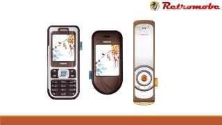Nokia 7360, 7370, 7380 - the L'Amour Range (2005)