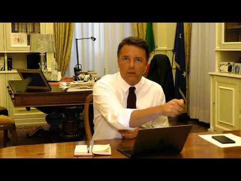 matteo renzi in diretta facebook dal senato youtube
