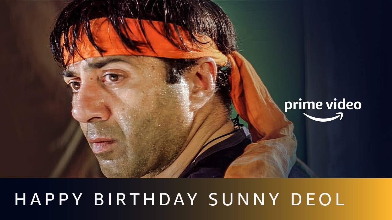 King of Action - Happy Birthday   Sunny Deol   Amazon Prime Video #shorts
