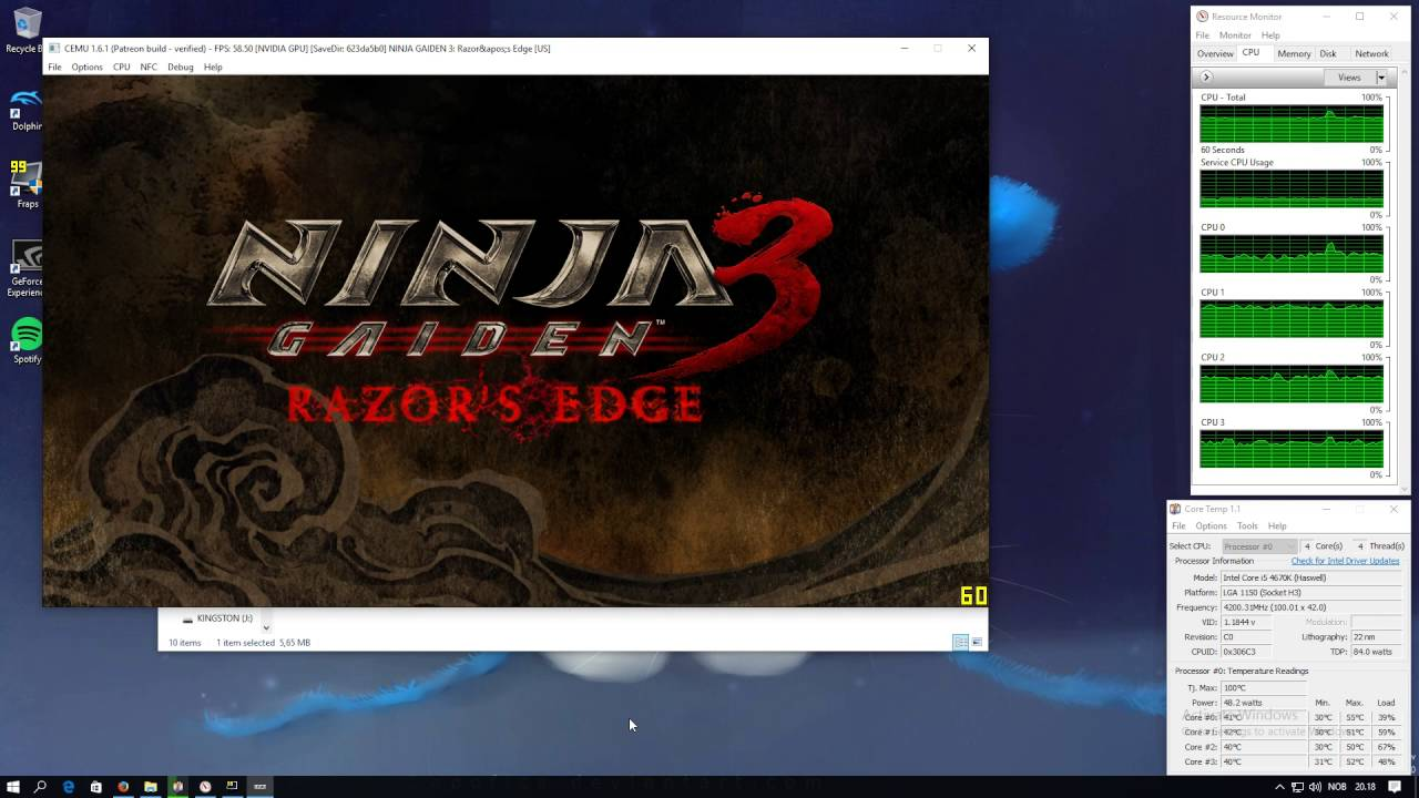 Ninja Gaiden 3 Razors Edge Wii U Cemu 1 6 1 Youtube