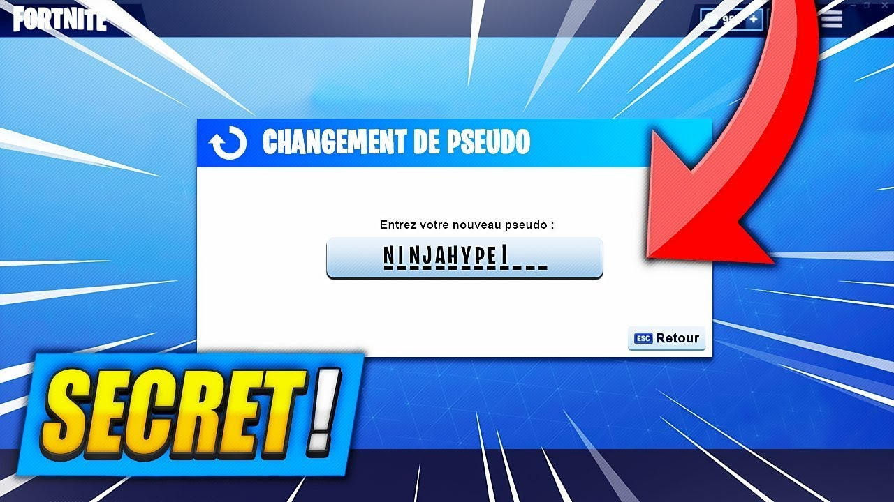 Comment Changer Son Pseudo Sur Fortnite Battle Royale Ps4