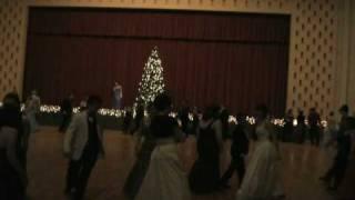 Christmas Ball in Ponca City, Oklahoma 2008 - Dasing White Sergeant