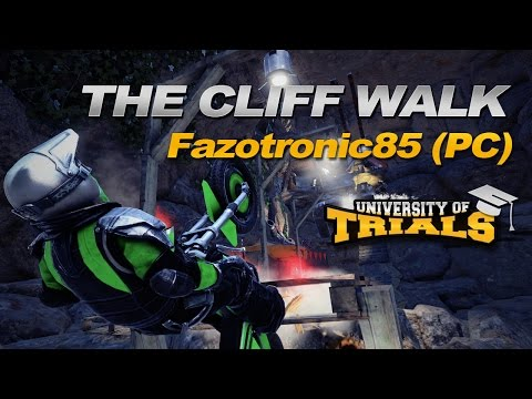 Trials Fusion Community Track - The Cliff Walk by Fazotronic85 (PC)