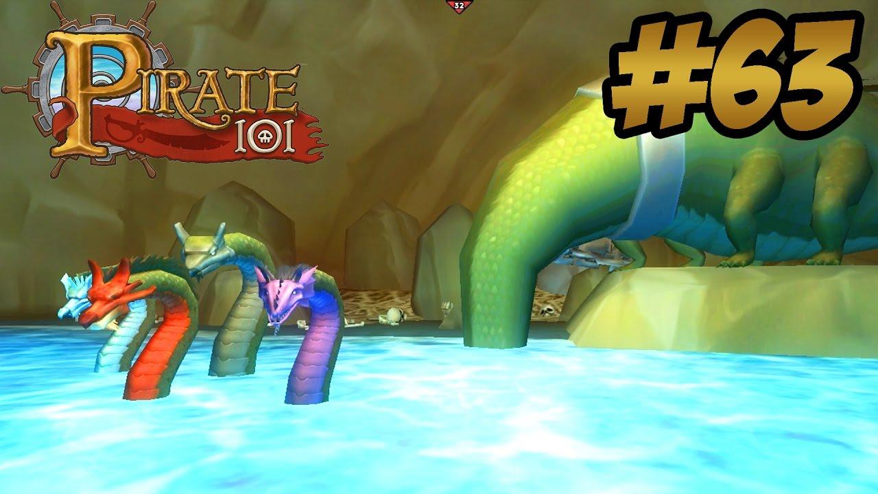 Hydra Battle Pirate101 Swashbuckler Walkthrough 63 Youtube