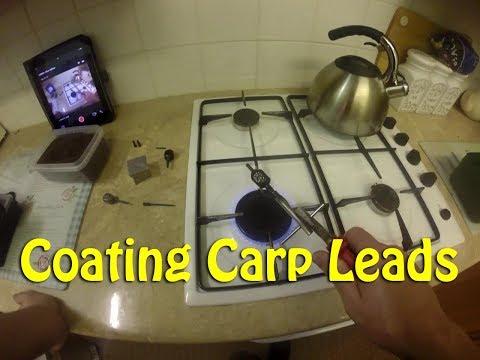 Coating Carp Leads