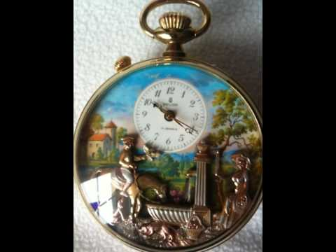 Reuge Musical Automation Pocket Watch