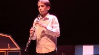Hautbois Elouan 12 ans JS Bach sonate sol mineur BWV 1020 2ième mvt 2012 03