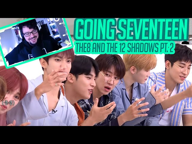 Mikey Reacts to GOING SEVENTEEN 2020 - The8 and 12 Shadows pt. 2