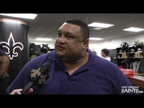 Hall of Famer Willie Roaf talks about the Saints