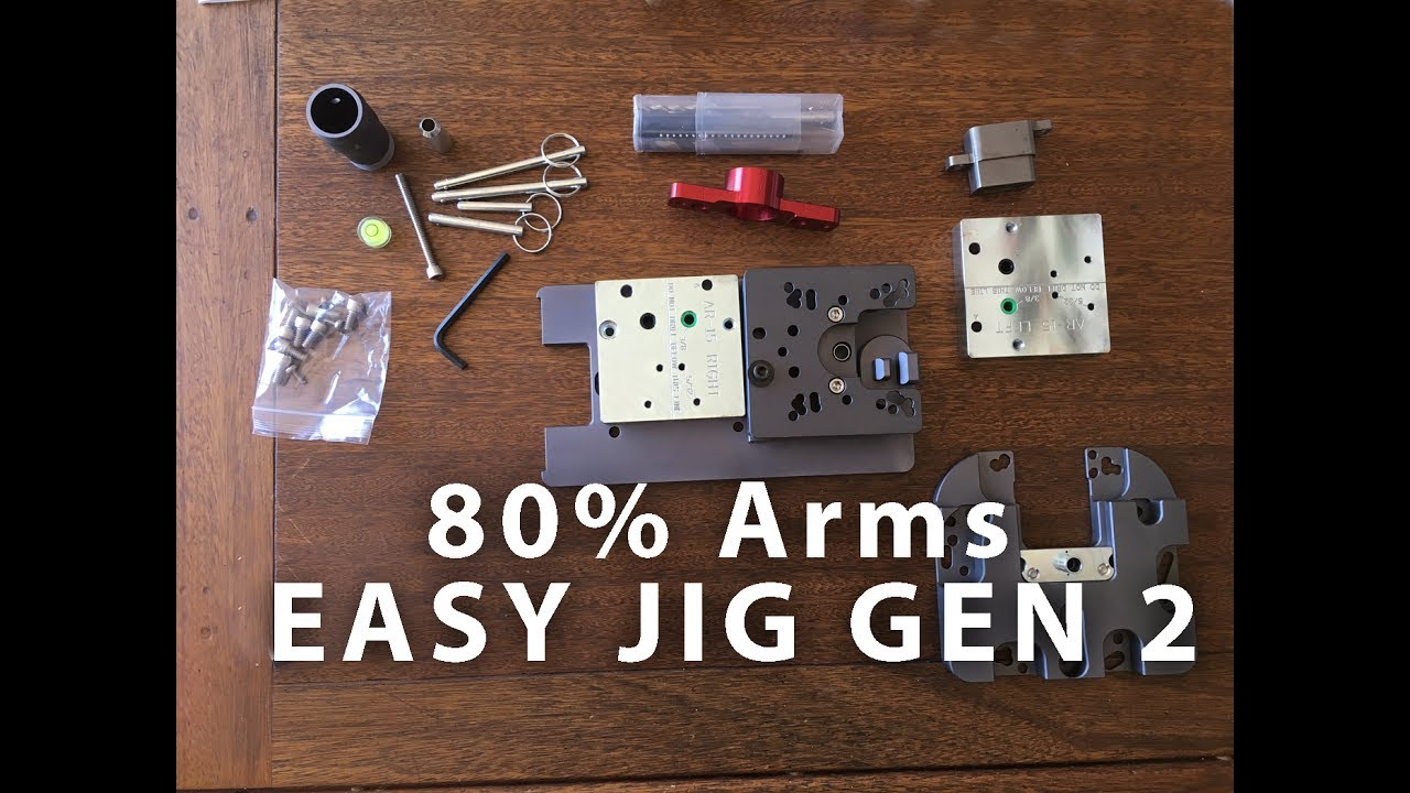 80% arms EASY JIG GEN 2 Unboxing and setup REVIEW