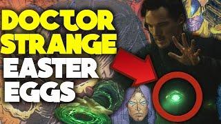 Top 10 SECRET Doctor Strange Easter Eggs, References & Cameos (SPOILERS!)