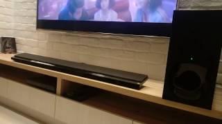 SONY HT-NT5 Soundbar Hi-Res Audio Test
