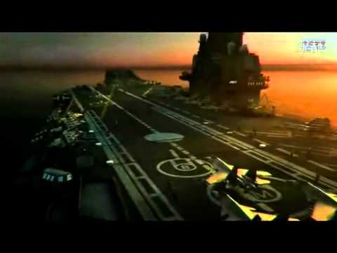 CHINA'S aircraft carrier publicity all CG animated - micro-film