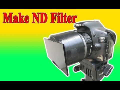 [DIY] Làm ND Filter chụp phơi sáng ban ngày từ kính hàn | Make ND Filter welder