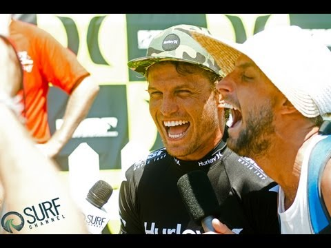 Heat Highlights - Paul Fisher Interview Bomb Uncut: Hurley Pro with Yadin Nicol