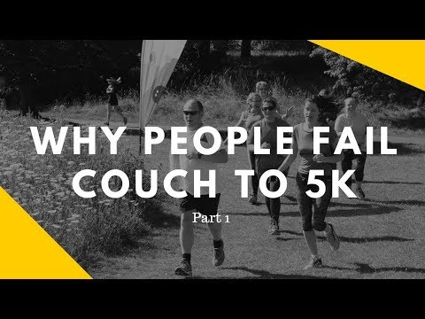 Why People Fail Couch to 5k Plans Part 1