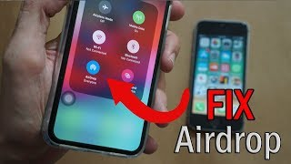 How to Fix Airḋrop Not Showing/Working on iPhone [SOLVED]