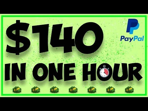 Make $140 In One Hour - Make Money Online (PayPal)