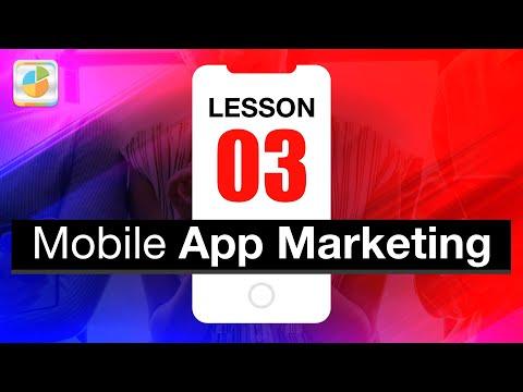 Worksheet of App Marketing: Lesson 03