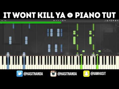 The Chainsmokers  It Wont Kill Ya ft Louane PIANO TUTORIAL + FREE SHEETS