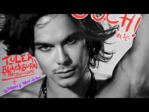 "Ouch! Magazine ""the fashion muse"" COVER  Tyler Blackburn"