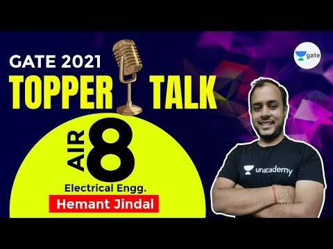 Hemant Jindal (Plus subscriber) | Electrical - Rank 8| GATE 2021 Topper | Interview with #AnkitGoyal
