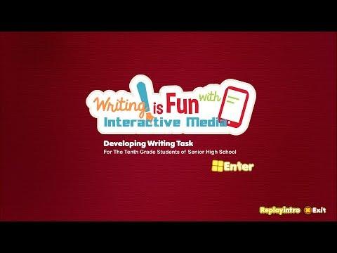 Multimedia Interaktif Bahasa Inggris (English) Writing is Fun